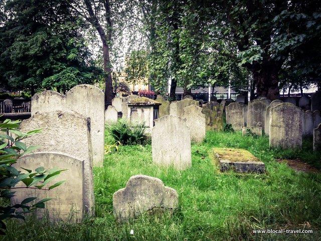 bunhill fields cemetery london