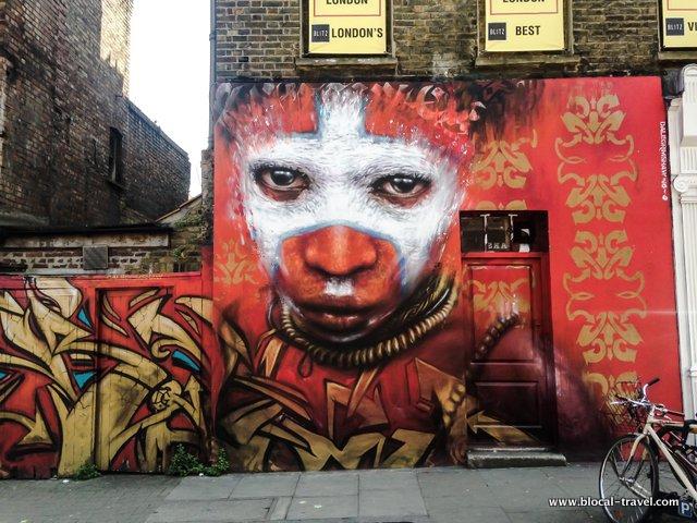 Dale Grimshow street art weekend in London