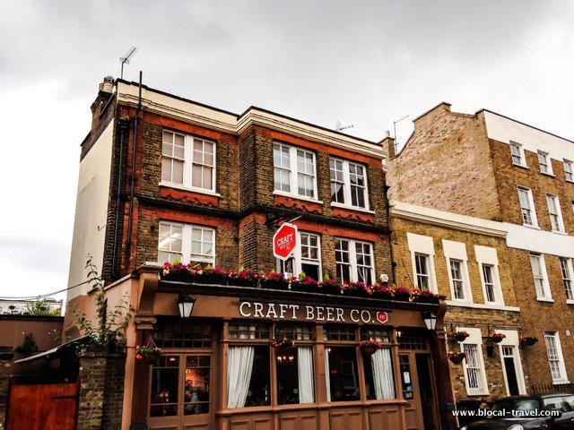 craft beer co london pub