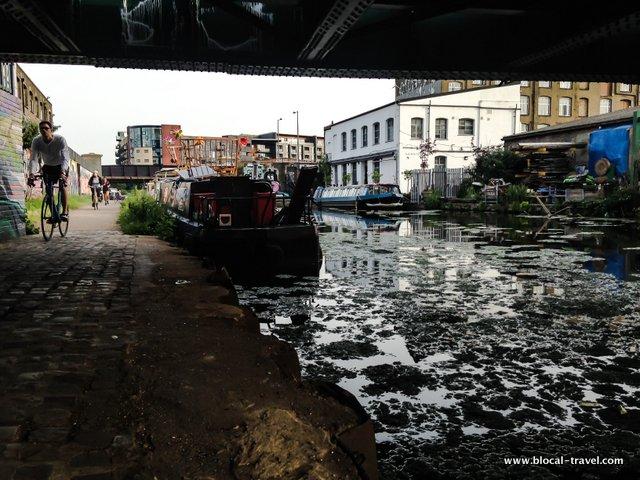 hackney canal weekend in london