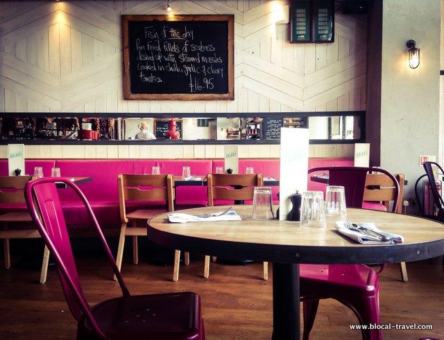 Jamie Oliver Italian restaurant Cardiff