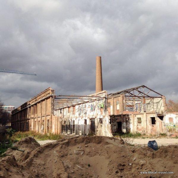 abandoned factory poblenou barcelona
