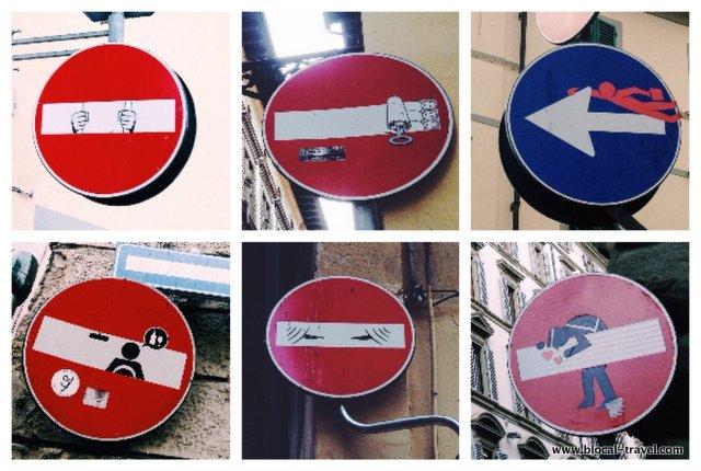 clet street art florence