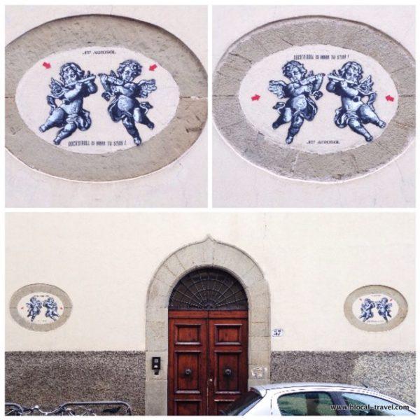 jef aerosol street art florence