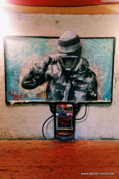 sottopasso delle cure street art firenze