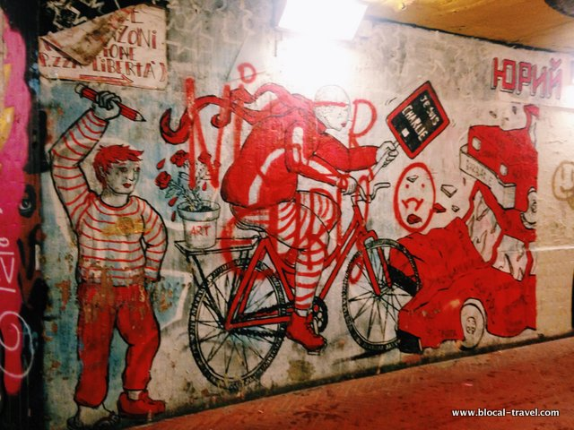 hopnn yuri sottopasso delle cure street art firenze
