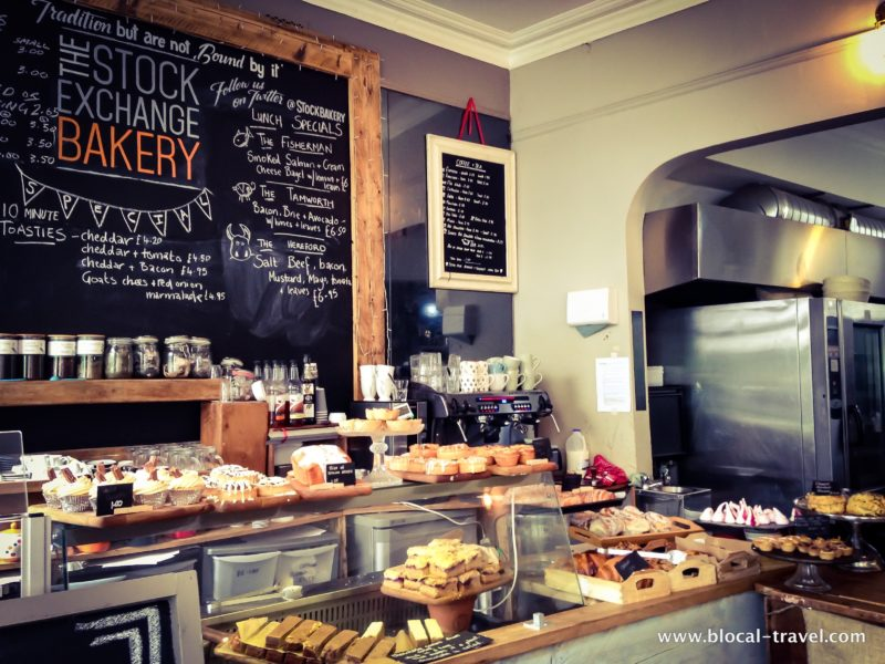 stock exchange bakery bristol food guide