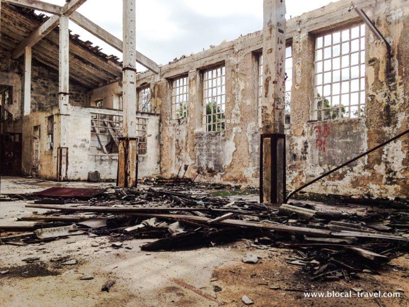 Goli Otok abandoned prison Croatia