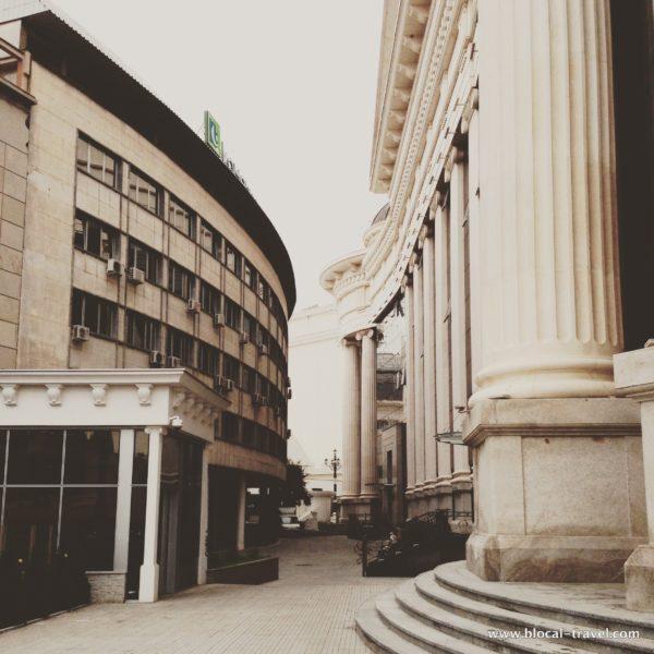 brutalist architecture in skopje