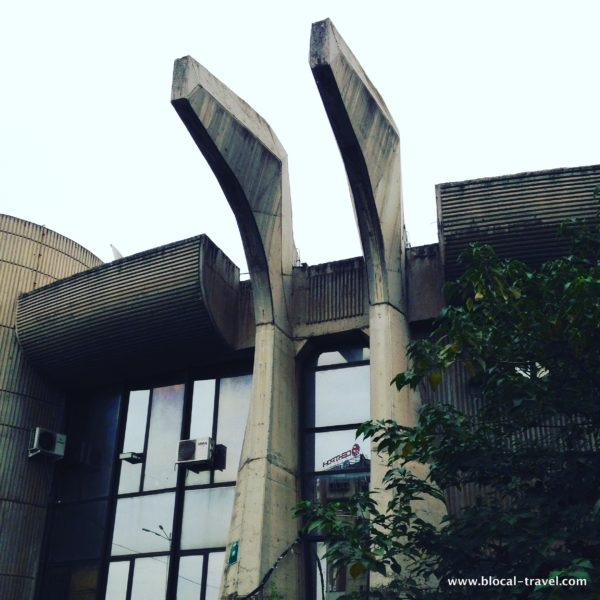 brutalist architecture in skopje