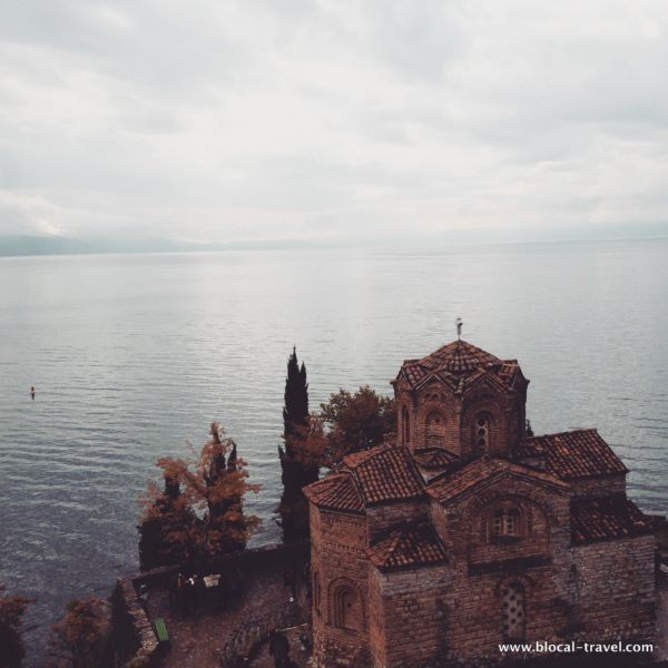 Ohrid in winter
