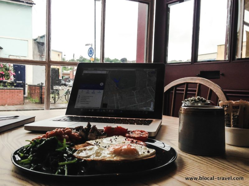 cafes with Wi-Fi in Bristol