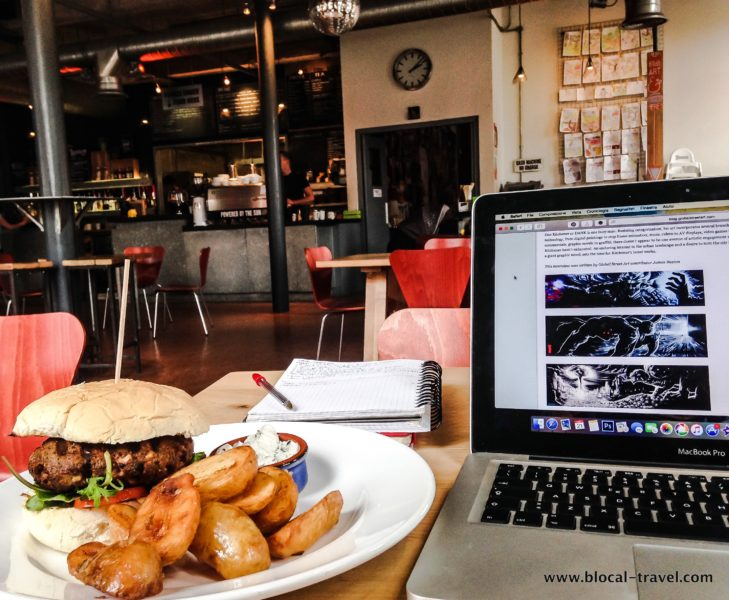cafes with wifi in Bristol