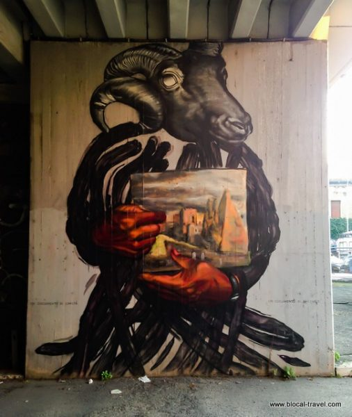 Gaia Ostiense Rome's street art