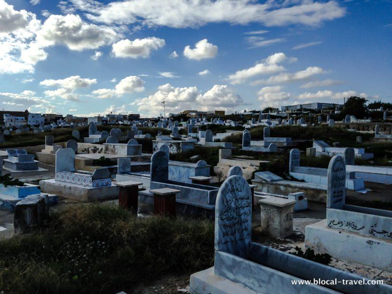 Mahdia cemetery Tunisia