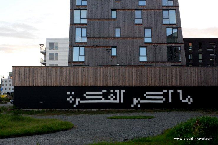 bahia shehab STREET ART STAVANGER