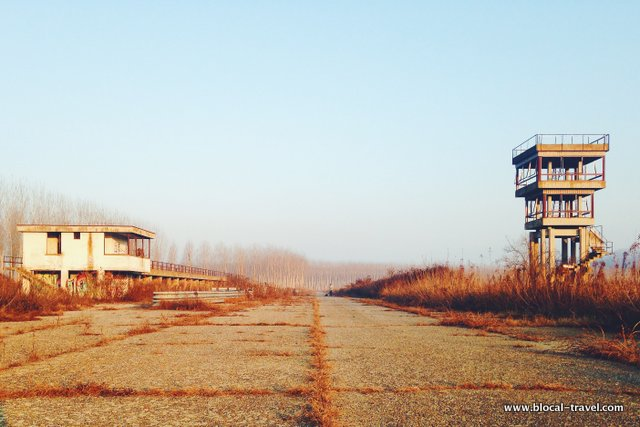 abandoned racetrack autodromo urbex italy