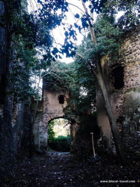 galeria antica ghost town italy
