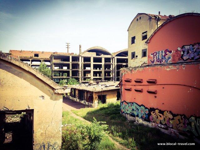 penicillina abandoned factory rome urbex