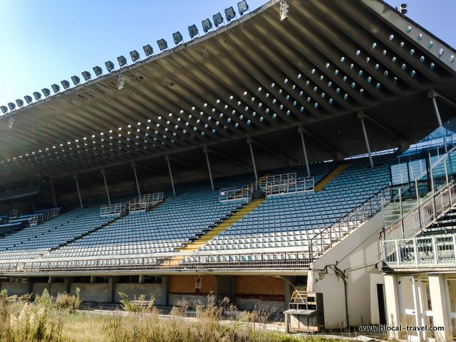 alternative walking tours Rome stadio flaminio urbex abandoned