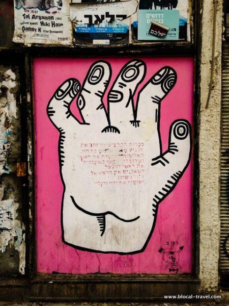 nitzan mintz street art tel aviv