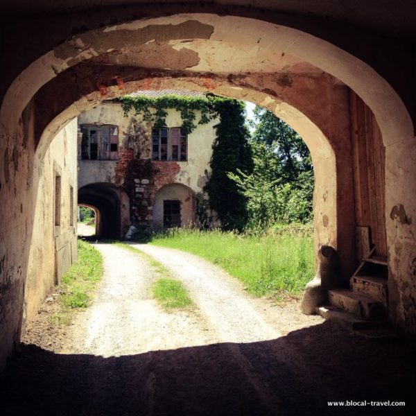 abandoned place slovenia