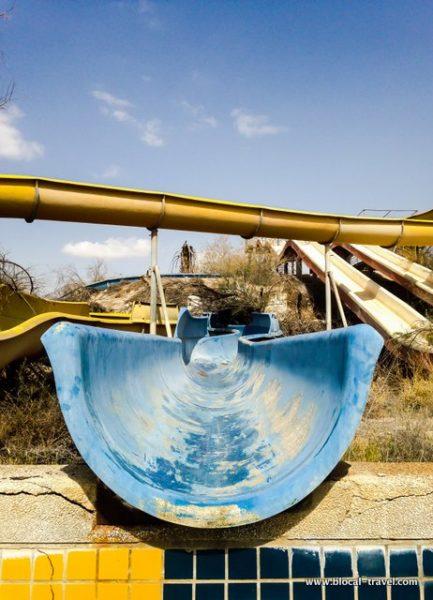 abandoned water park Atraktzia urbex israel