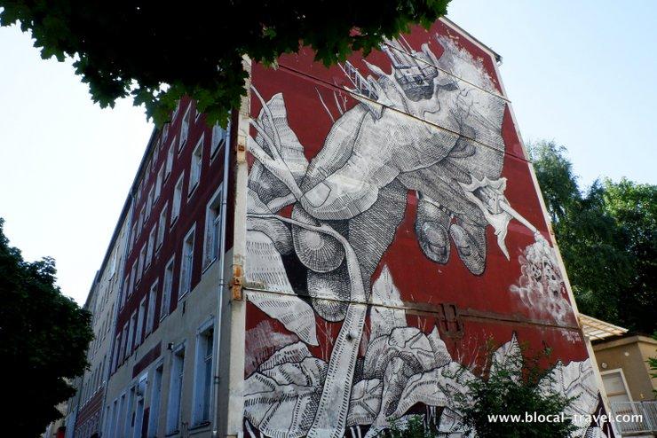 Dima Fatum mural in Chemnitz street art