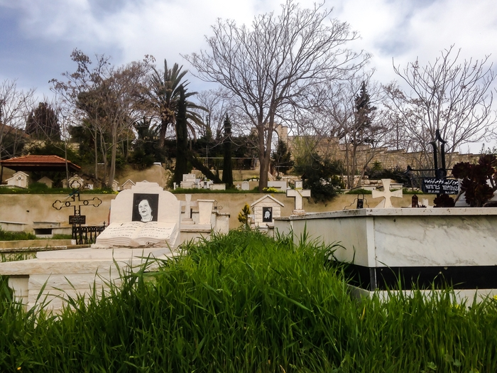 Catholic Cemetery in Jerusalem