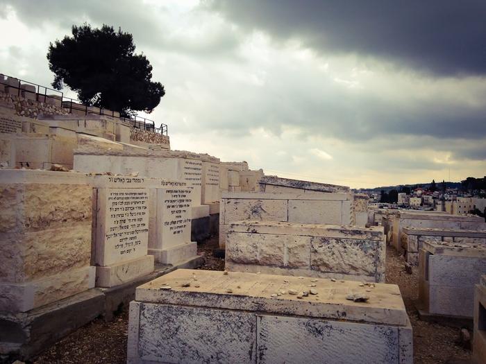 Jewish Cemetery in Jerusalem