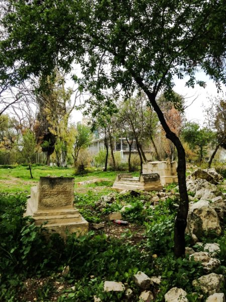 mamilla muslim cemetery in jerusalem