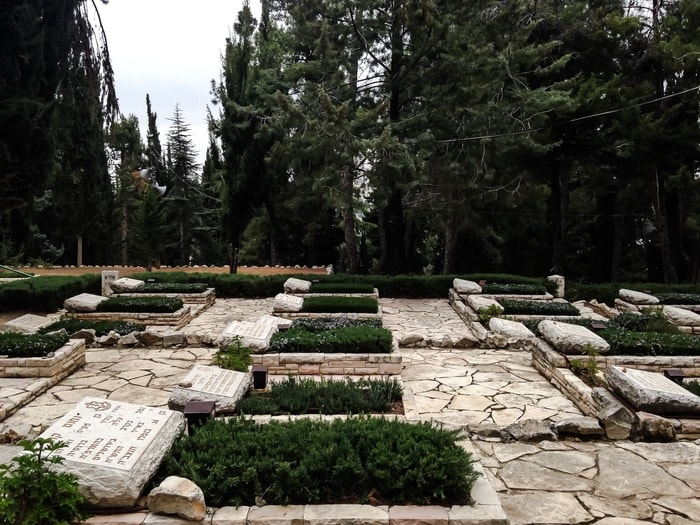National military cemetery in Jerusalem