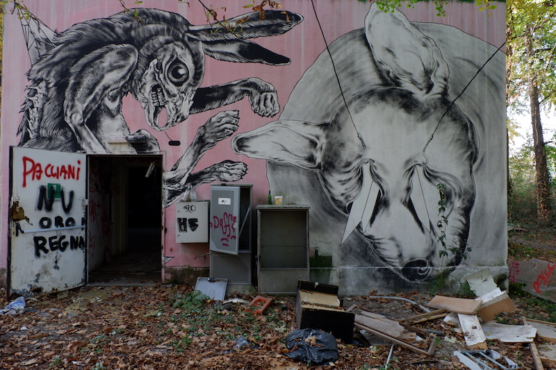abandoned zoo Turin