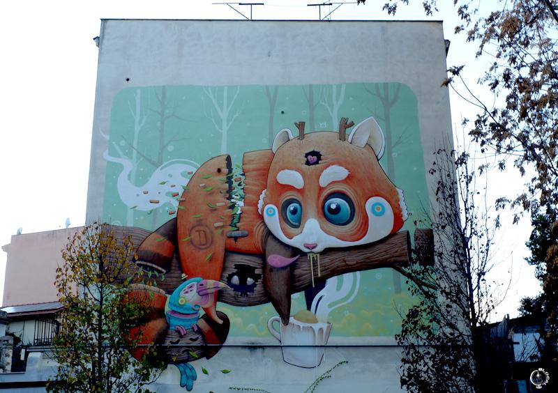 dulk Tor Pignattara Street Art Guide