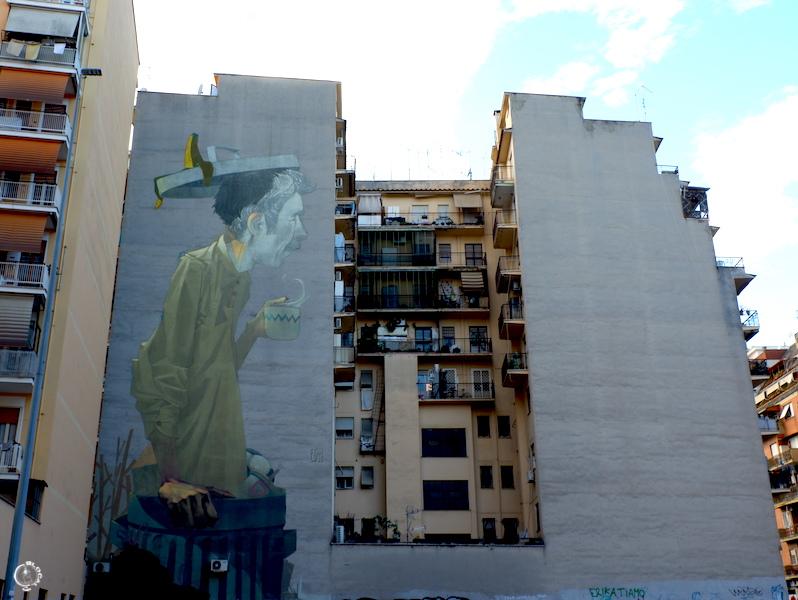 etam cru Tor Pignattara Street Art Guide