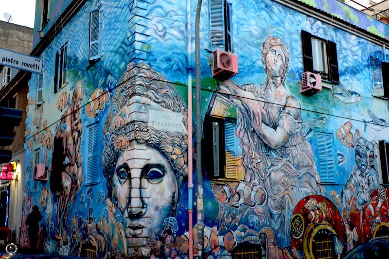 Complètement et trop extrême Urban Art in Rome: Tor Pignattara Street Art Guide #RL_33