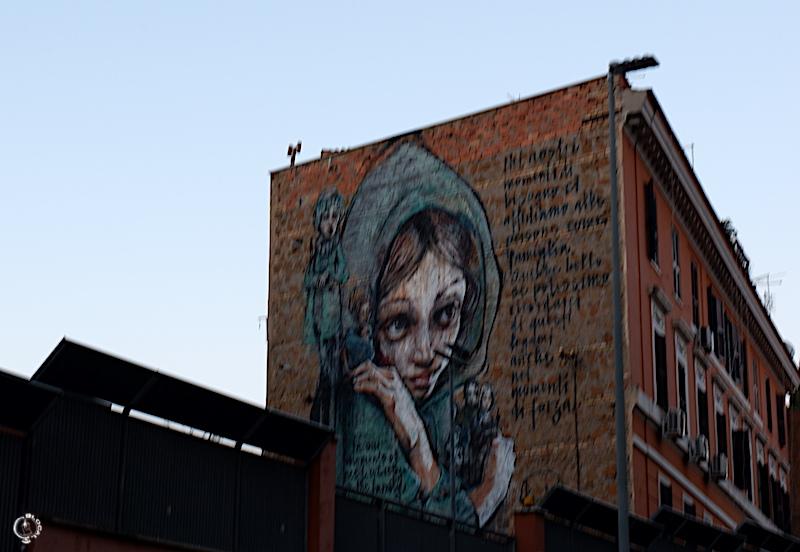 herakut Tor Pignattara Street Art Guide