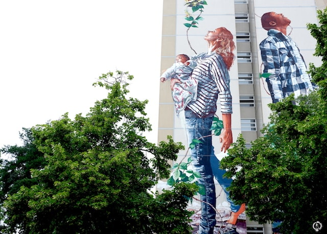 Fintan Magee street art in Berlin