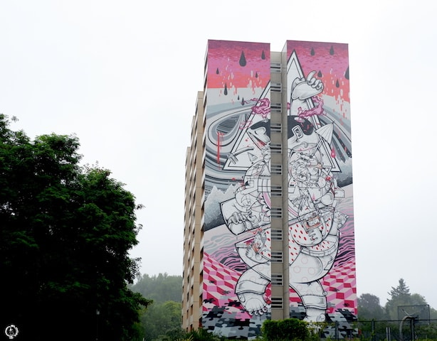 Hownosm mural in Berlin