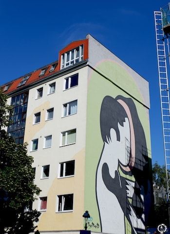 Nomad mural in Berlin street art