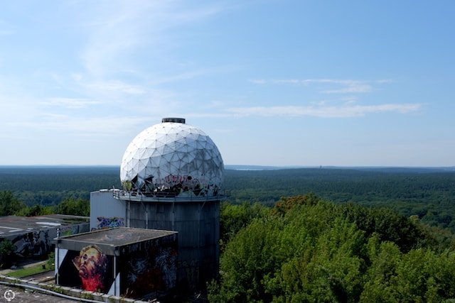Teufelsberg abandoned place graffiti in Berlin