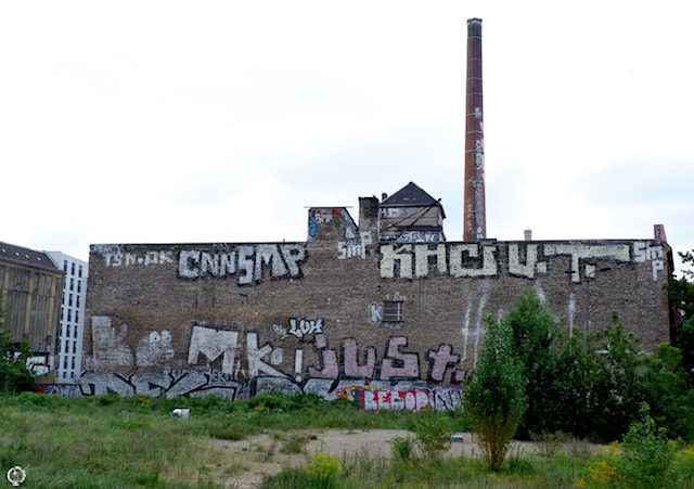 graffiti Berlin ice factory
