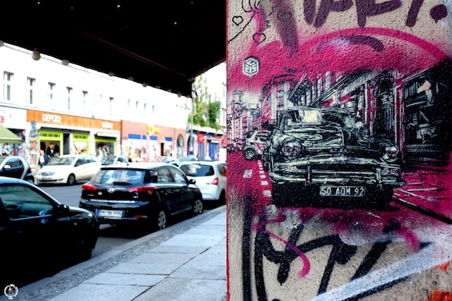 where to find street art in Berlin C215