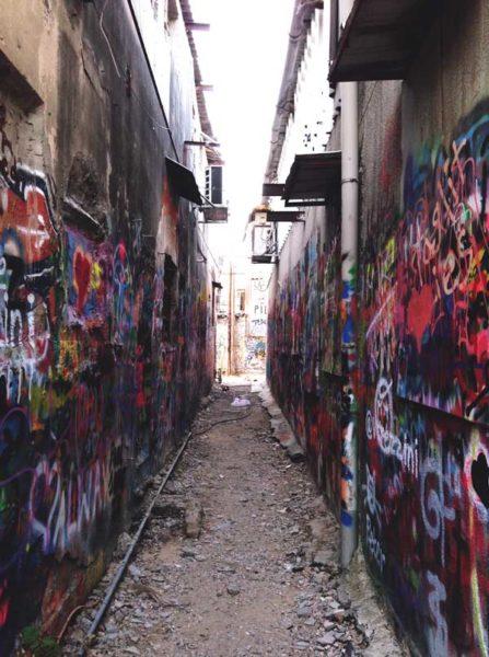 Tel aviv trip to Israel graffiti