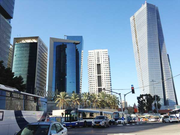 Tel aviv trip to Israel skyscrapers