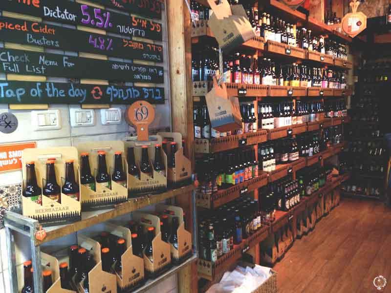beer bazaar yeruda market jerusalem