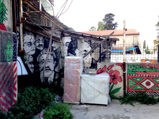 broken fingaz haifa street art