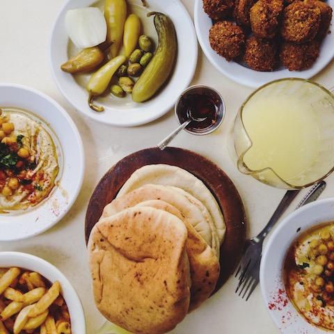 food Tel aviv trip to Israel