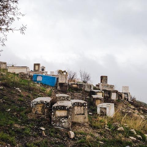jewish cemetery in zefat trip to israel