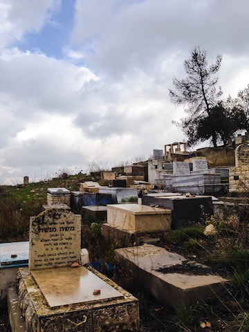 jewish cemetery in zefat trip to israel